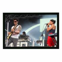 Funscreen Matt White Frame Screen 169x300 cm Format 16:9