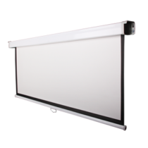 Funscreen Matt White Rollo 138x180 cm Format 4:3