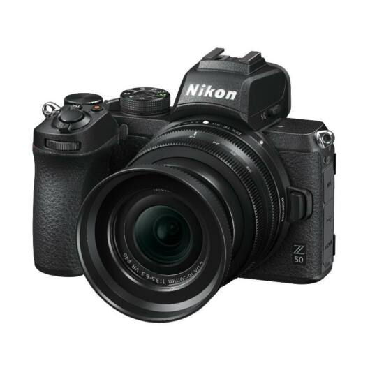 Nikon Z50 + DX 16-50mm VR (VOA050K001) Digitális fényképezőgép