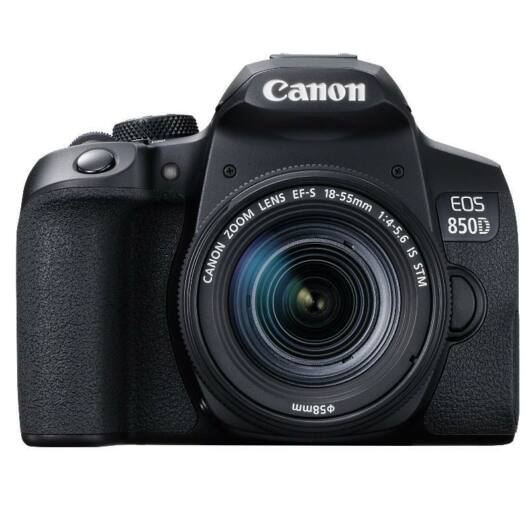 Canon EOS 850D + EF-S 18-55mm IS STM Digitális fényképezőgép